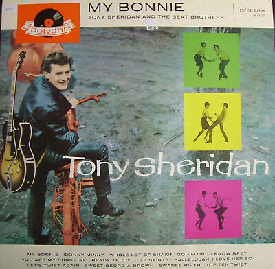 Tony Sheridan  And The Beat Brothers  Lp  My Bonnie  [Allemagne - Re]