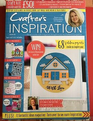 Crafters Companion CRAFTERS INSPIRATION - Issue 19 SUMMER Edition - £50 FREE KIT