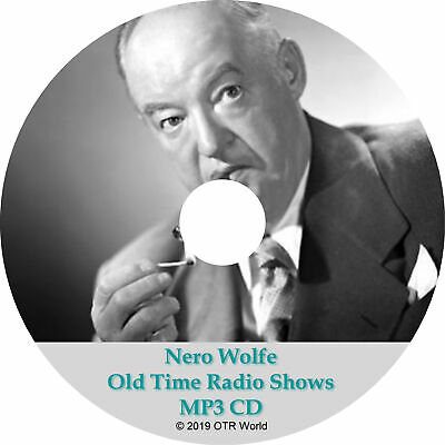 Nero Wolf Old Time Radio Shows OTR MP3 On CD 40 Episodes