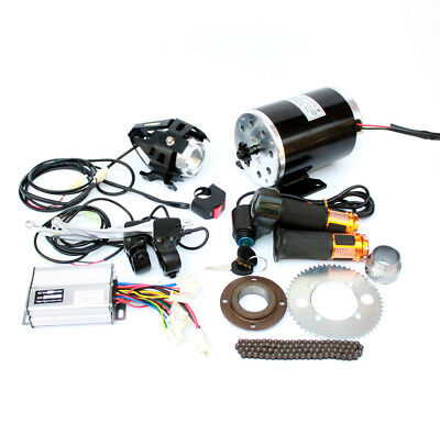 1000W Electric Motorcycle Motor Kit Changing Gas ATV To Electric ATV DIY Electri