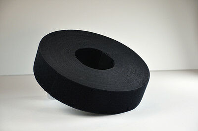 "VELCRO® Brand Reusable ONE-WRAP®  Strap Dbl Sided 2"" x15ft. (5yards) Black"