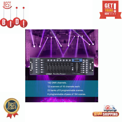Disco Light Controller 192 Channels DMX512 Controller Console For Stage Light