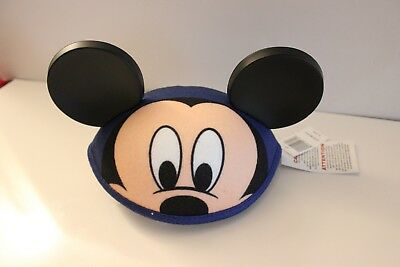 Disney Parks Infant/Toddler Mickey Face Ear Hat New with Tags