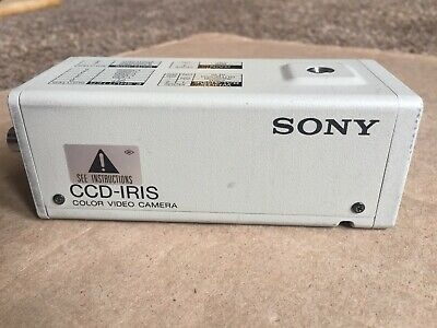 Sony DXC-107A CCD-IRIS Professional Color Video Camera