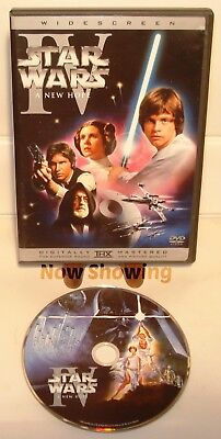 ✅ Star Wars: Episode IV 4 - A New Hope 1 Widescreen Dvd - No Fakes Here! ⭐⭐⭐⭐⭐