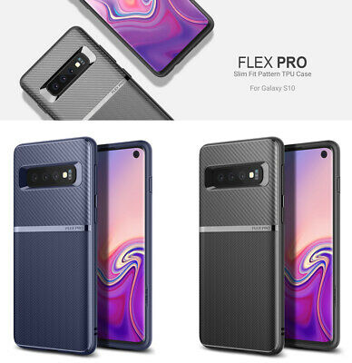 OBLIQ Flex Pro Strong Flex TPU Slim Soft Cover For Galaxy S10 S10 Plus S10e Case
