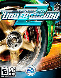 Need for Speed: Underground 2 (PC, 2004) SOFTWARE DOWNLOAD ONLY