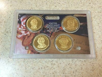 2008 S Proof Presidential Dollar Set no Box or COA
