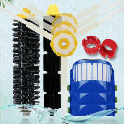 Vacuum Cleaner HEPA Filter Bristle/Side Brush Replacement Kit For 600 Series