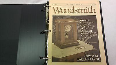 Woodsmith Magazine Issues 49 - 60, In 3-Ring Binder