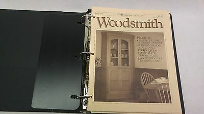 Woodsmith Magazine Issues 61 - 72, In 3-Ring Binder