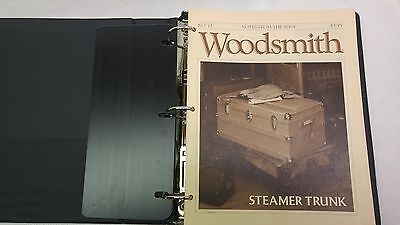 Woodsmith Magazine Issues 73 - 84, In 3-Ring Binder