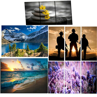 Wall Art Framed Canvas Paintings about Landscape Figures Flower for Home Bar