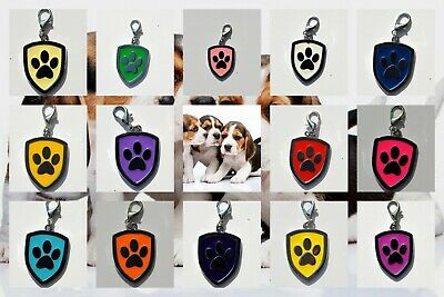 Personalised IMPACT ENGRAVING Dog ID / Cat Name Tag Puppy Pet ID Tags 14 COLORS