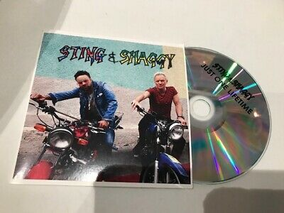 sting shaggy  cd promo 2 t  just one lifetime france