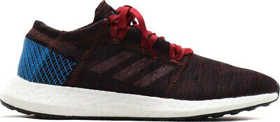 ae7f5a893 Mens Adidas PureBOOST GO Red Multi Sport Athletic Running Shoes AH2326 Size  9-14