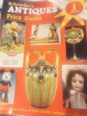 Schroeder's Antiques Price Guide 1998  GREAT REFERENCE MATERIAL@@@