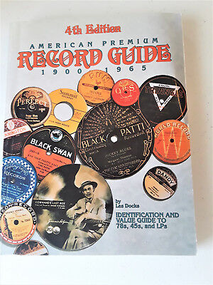 American Premium Record Guide 1900-1965 GREAT Reference!