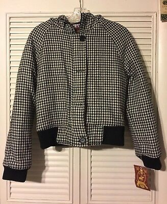 Beverly Hills Polo Club Size M NWT Black And White Kids Jacket