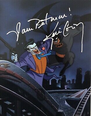 Kevin Conroy Signed Autographed Batman The Animated Series 8x10 Photo Coa