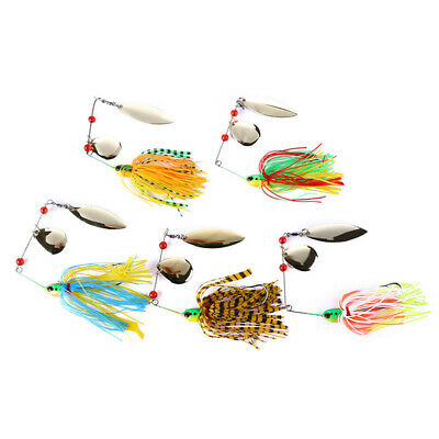 5Pcs/Set Fishing Tool Sequins Fishing Hook Fishing Lure Sequins Hook Useful GA