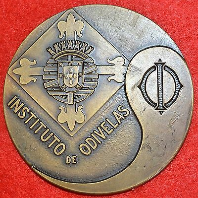 Bronze medal alluding to Education / Institute of Maynooth