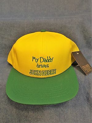 82c105c3d36c9 John Deere Youth Cap - My Daddy Drives John Deere - New With Jd Tag