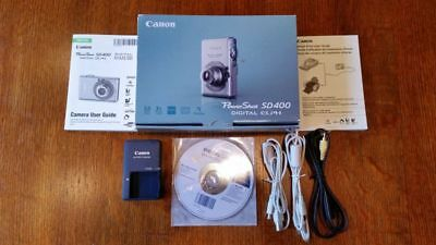 Canon PowerShot Digital ELPH SD400 5.0MP Digital Camera