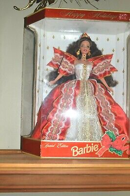 Special Edition Happy Holiday Barbie Collector Doll 17832 NIB