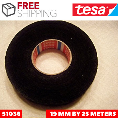 Tesa 51036 High Heat Harness Tape 19mm Wide By 25m Long For Mercedes BMW Audi VW