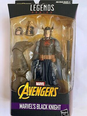 """AVENGERS MARVEL LEGENDS 6"""" CULL OBSIDIAN SERIES BLACK KNIGHT Action Figure F/S"""