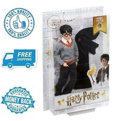 """New 12"""" Harry Potter Doll Black Wizard Action Figure Toy Boy Girl Birthday Gift"""