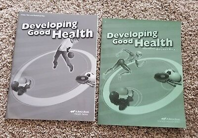 ABEKA 4TH GRADE Health-Developing Good Health Textbook