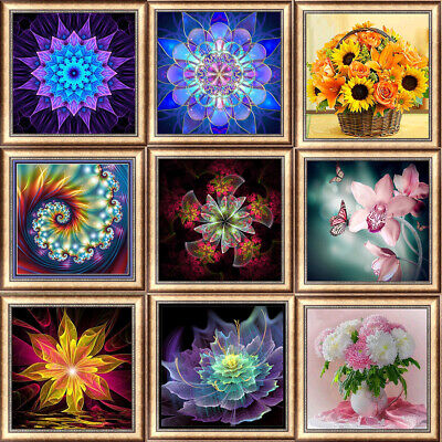 Dream Flower DIY 5D Diamond Painting Kitten Cross Stitch Kits Home Decor Craft