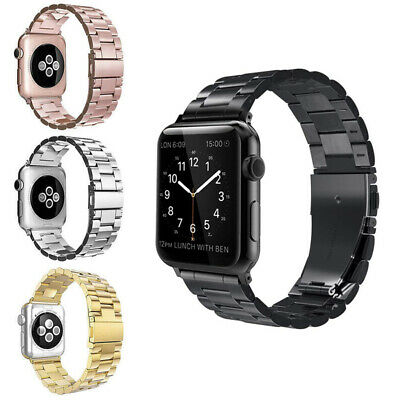 For Apple Watch Series 4/3/2/1 Stainless Steel Wrist iWatch Band Strap 38/44mm