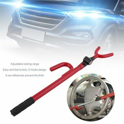 Heavy Duty Anti Theft Car Steering Wheel Lock Car Van Security Pedal Clutch LoSB