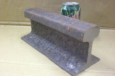 Railroad Track Work Bench blacksmith Anvil 14 lbs Steel, Shop Tool RR Forged