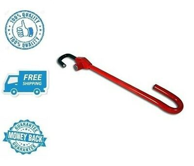 New Red Lock Vehicle Anti Theft Device Pedal to Car Steering Wheel Safety Tool