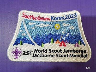 2023 World scout Jamboree Korea patch #2 // world scout jamboree 2019
