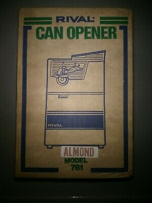 Rival Can Opener Model 781 Almomd Brand New Old Stock