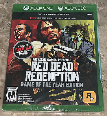 RED DEAD REDEMPTION Game of the Year Edition Microsoft Xbox One & 360 BRAND  NEW!