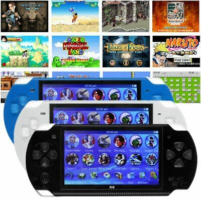 8GB Portable 4.3'' PSP Handheld Video Game Console Player 10000 Games Built-In
