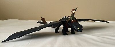 How To Train Your Dragon 2010 Toothless 26 Wingspan Hiccup 79 95 Picclick