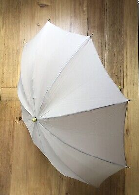 Vintage Paragon Umbrella - Fox Frame - Bakelite Handle - Caramel Nylon Canopy