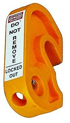 Extreme Safety MINI LOCKOUT DEVICE 45x25x10mm For Circuit Breaker, Yellow