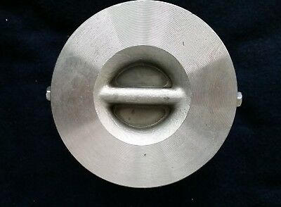 """Crane Duo-Chek II Stainless 316 SS Wafer Check 2 G15CPF - 9  2"""" Size"""