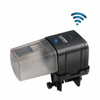 WiFi Aquarium Pond Automatic Fish Tank Food Auto Feeder Dispenser for Fish Tank