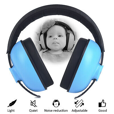 Baby Ear Protection Safety Ear Muffs Noise Reduction for Newborn Infant, Blue