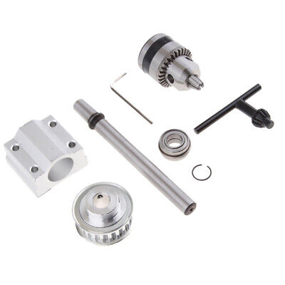 Diy Micro Bench Drill Spindle Assembly No Power Spindle With B10 Drill Chuck