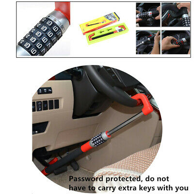 Anti Theft Car Steering Wheel Lock effective Car Van Security Device Clutch Lock